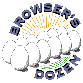 """Bookstore feature. Store """"mascot"""" was called """"the Browser""""."""