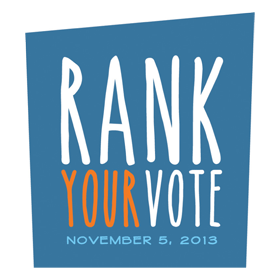 Ranked voting awareness campaign.